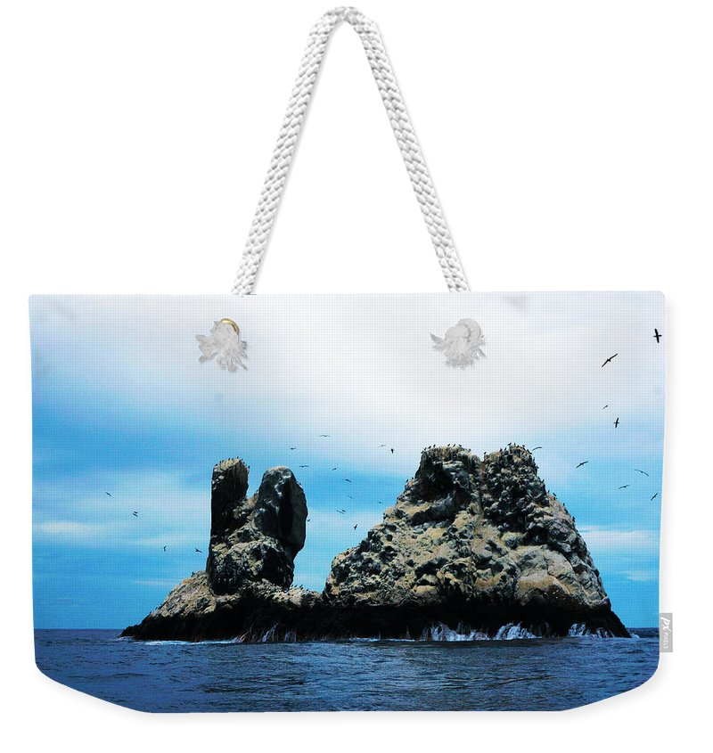 Roca Partida Weekender Tote Bag featuring the photograph Roca Partida by Mumbles and Grumbles