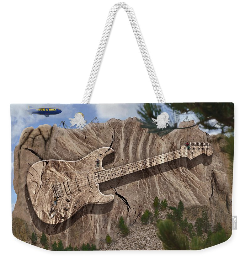 Surrealism Weekender Tote Bag featuring the photograph Rock And Roll Park 2 by Mike McGlothlen