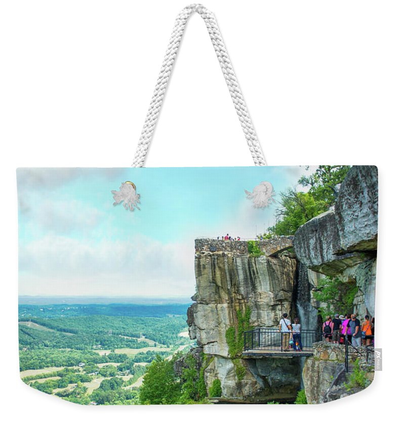 Lookout Mountain Weekender Tote Bag featuring the photograph Rock City by Art Spectrum