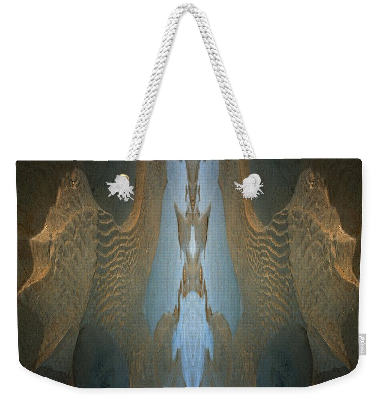 Rocks Weekender Tote Bag featuring the photograph Rock Gods Seabird Of Old Orchard by Nancy Griswold