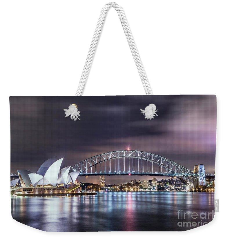 Sydney Harbour Weekender Tote Bags