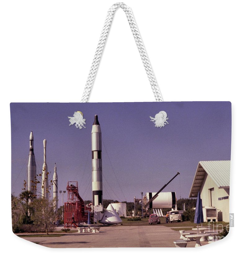 Rocket Weekender Tote Bag featuring the photograph Rocket Garden by Richard Rizzo