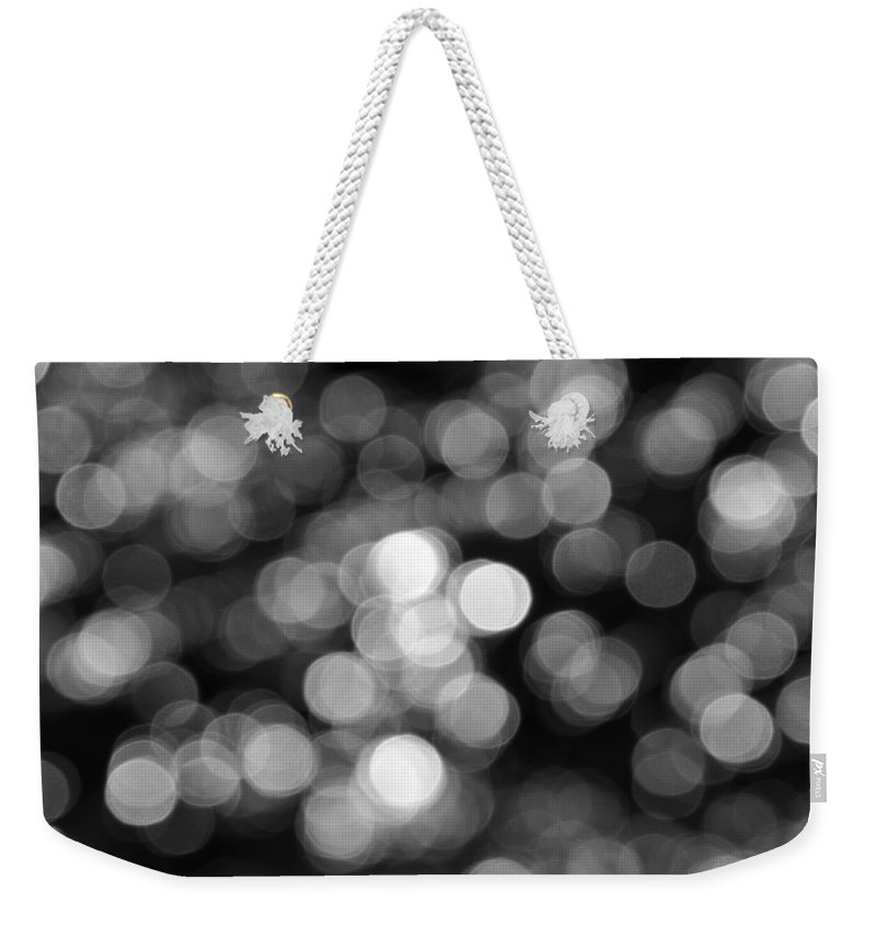 Rocky Mountains Weekender Tote Bag featuring the photograph Rocky Mountain Bokeh II by Kyle Hanson