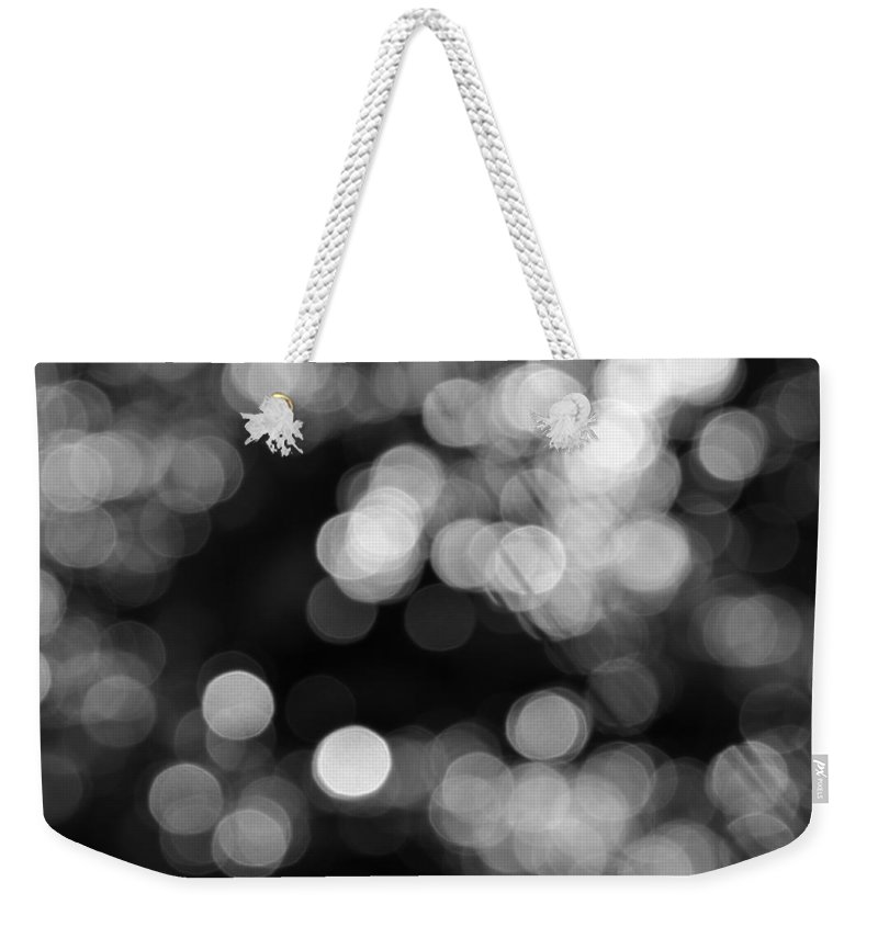 Rocky Mountains Weekender Tote Bag featuring the photograph Rocky Mountain Bokeh by Kyle Hanson