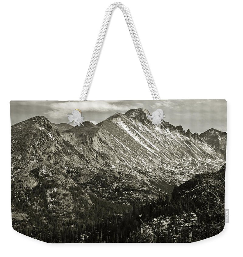 Colorado Weekender Tote Bag featuring the photograph Rocky Mountain Wonders by Marilyn Hunt