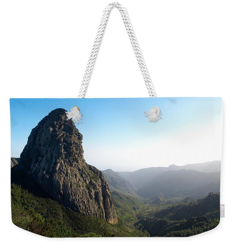La Gomera Weekender Tote Bag featuring the photograph Rogue De Agando 1 by Jouko Lehto