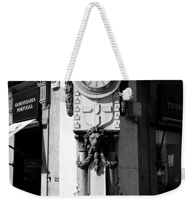 Rolex Weekender Tote Bag featuring the photograph Rolex 1b by Andrew Fare