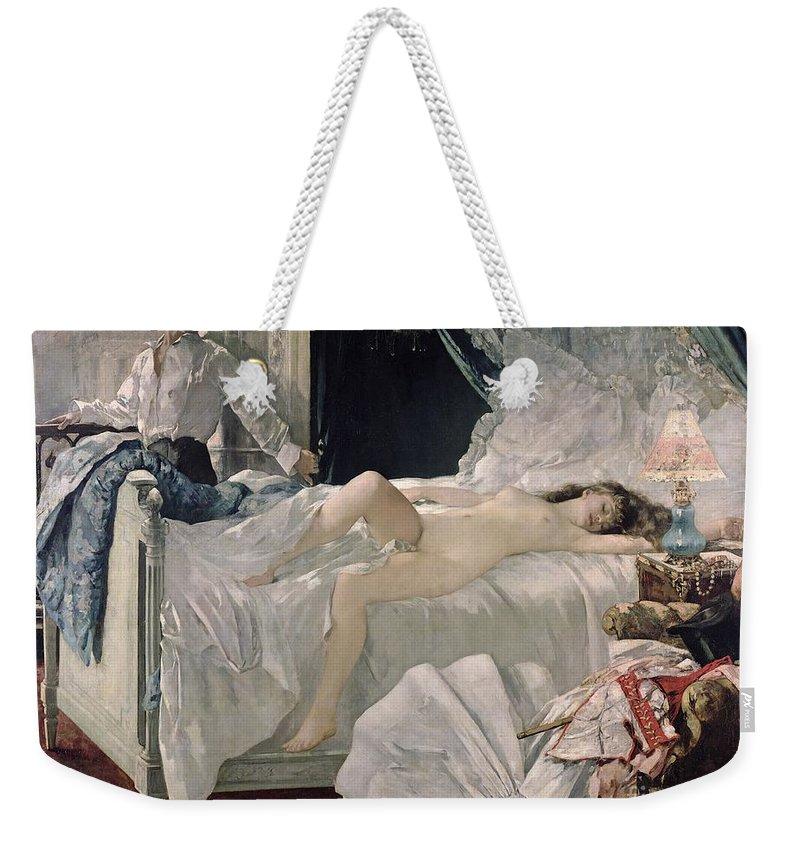 Nude Girls Weekender Tote Bags