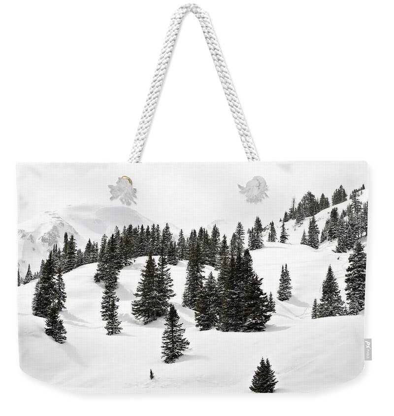 Rolling Hills Weekender Tote Bag featuring the photograph Rolling Hills by Marilyn Hunt
