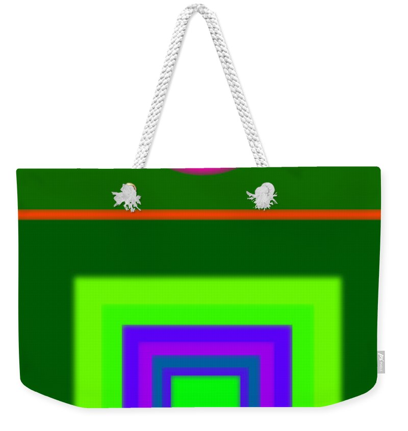 Classical Weekender Tote Bag featuring the painting Roman Green by Charles Stuart