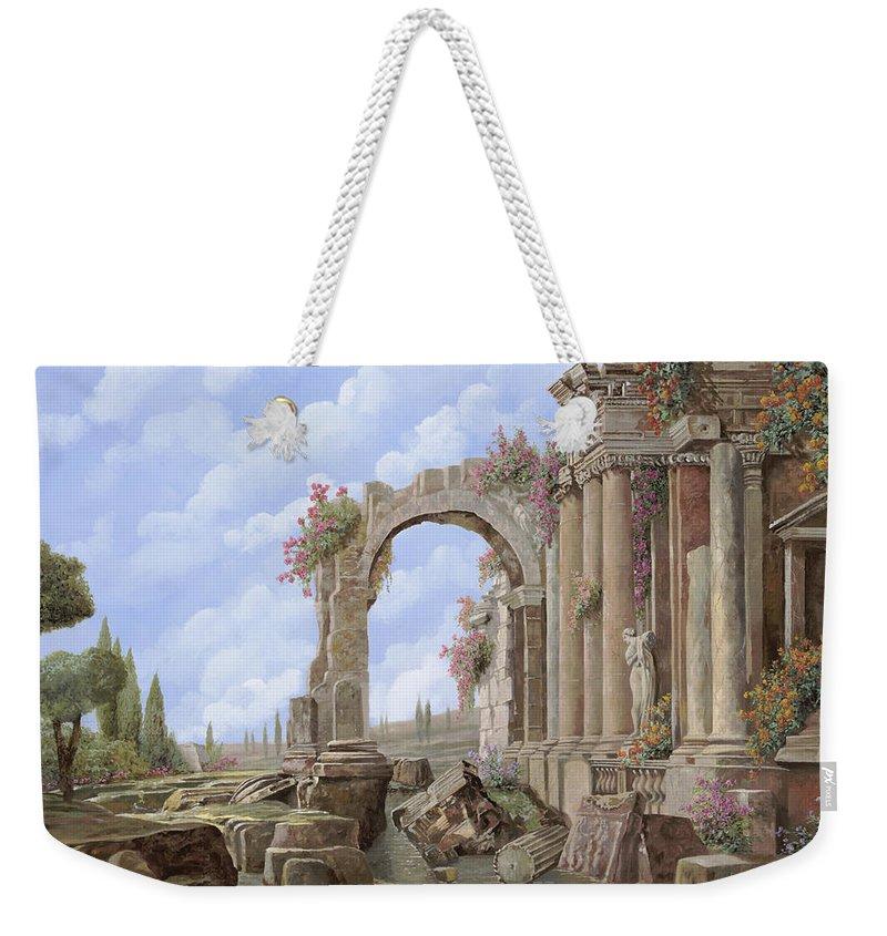 Roman Arch Weekender Tote Bags