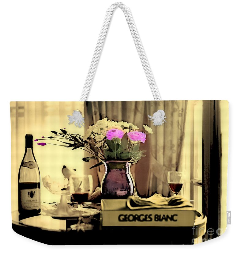 Still Life Weekender Tote Bag featuring the photograph Romance In The Afternoon 2 by Madeline Ellis