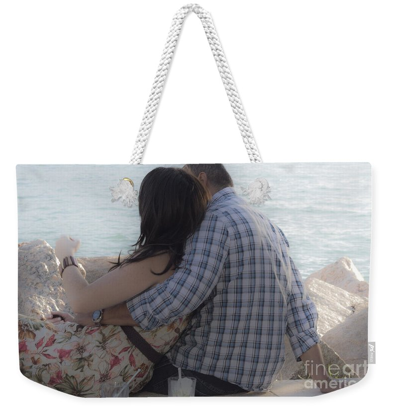Love Weekender Tote Bag featuring the photograph Romantic Whispers by Rene Triay Photography