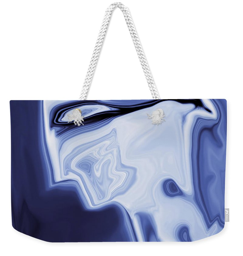 Art Weekender Tote Bag featuring the digital art Romeo by Rabi Khan