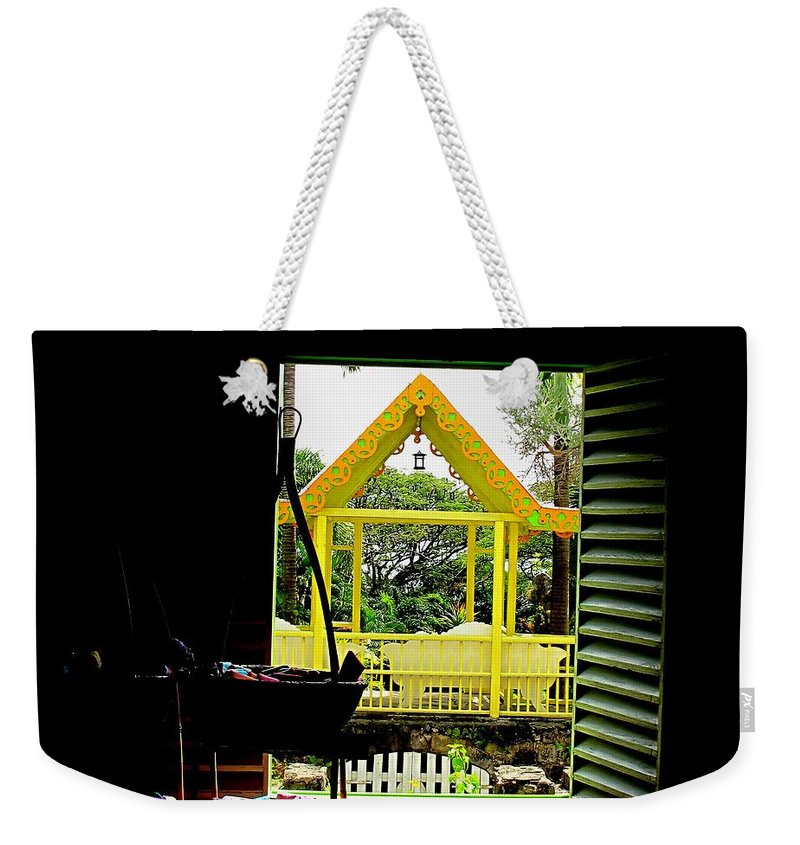 Romney Weekender Tote Bag featuring the photograph Romney Manor by Ian MacDonald