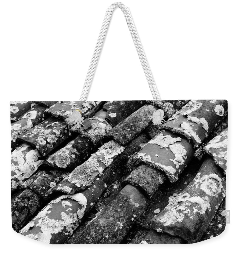 Ceramics Weekender Tote Bag featuring the photograph Roof Tiles by Gaspar Avila