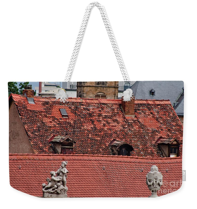 Bamberg Weekender Tote Bag featuring the photograph Rooftops Of Bamberg II by Thomas Marchessault