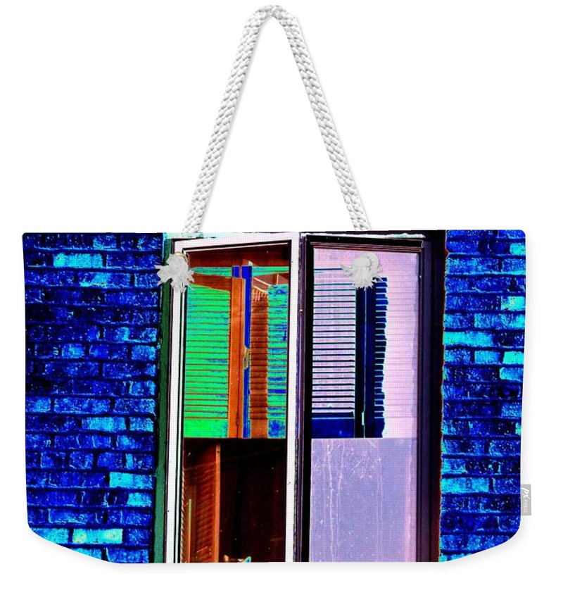 Architecture Weekender Tote Bag featuring the photograph Room With A View by Tim Allen