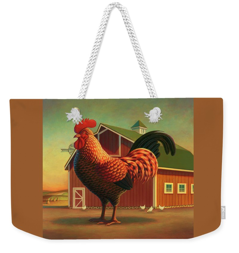 Farm Animals Weekender Tote Bags