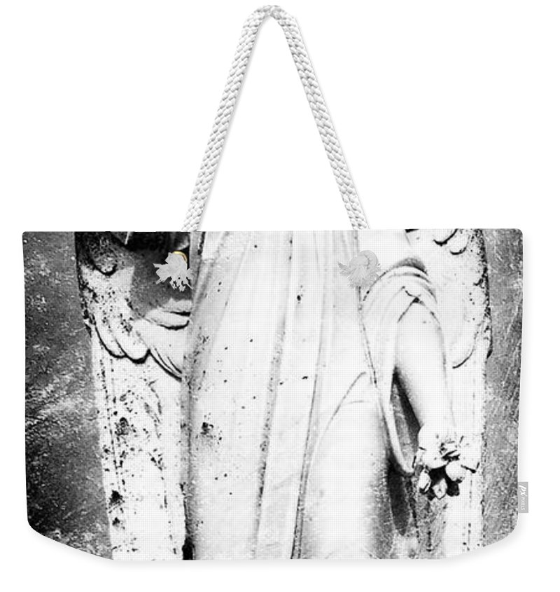 Roscommon Weekender Tote Bag featuring the photograph Roscommon Angel No 2 by Teresa Mucha