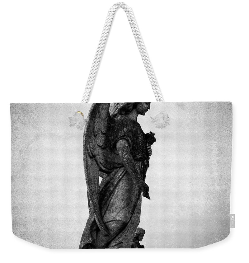 Roscommon Weekender Tote Bag featuring the photograph Roscommonn Angel No 4 by Teresa Mucha