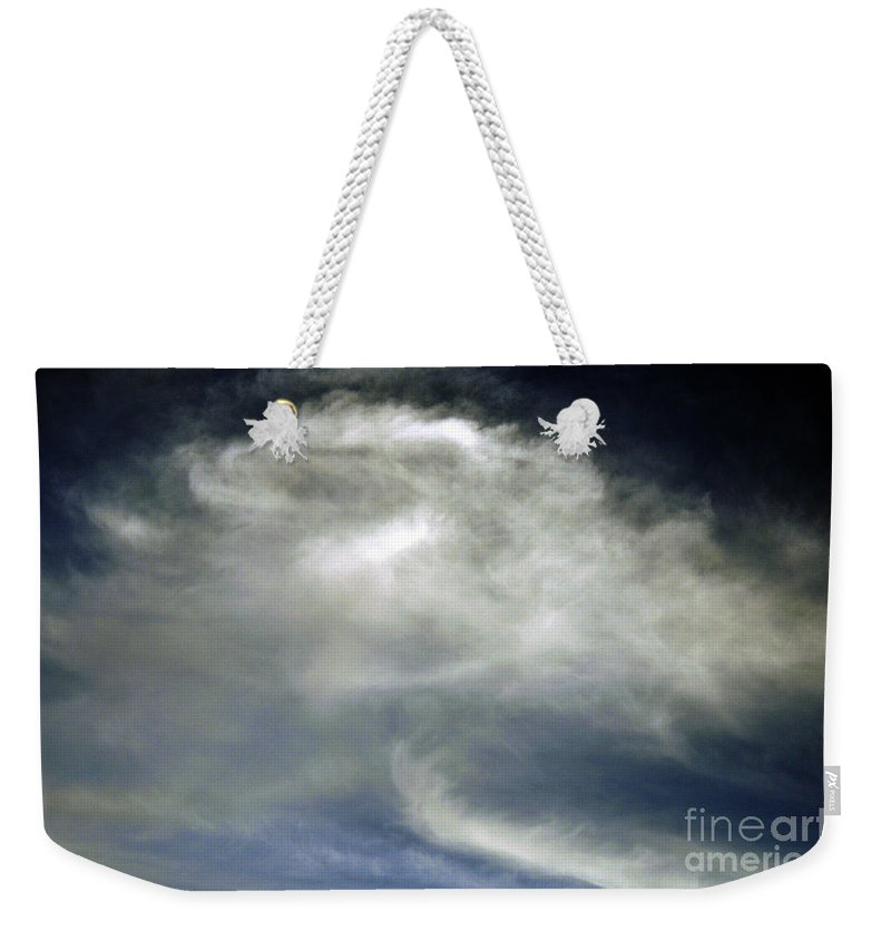 Clay Weekender Tote Bag featuring the photograph Rose Cloud by Clayton Bruster