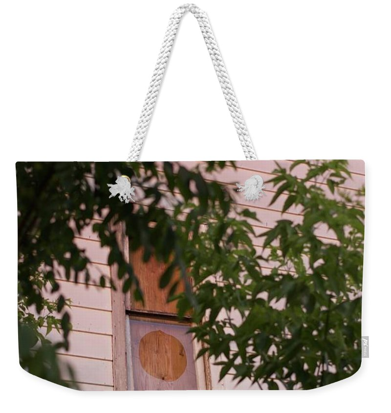 Sunset Weekender Tote Bag featuring the photograph Rose Light by Jordan Mayle