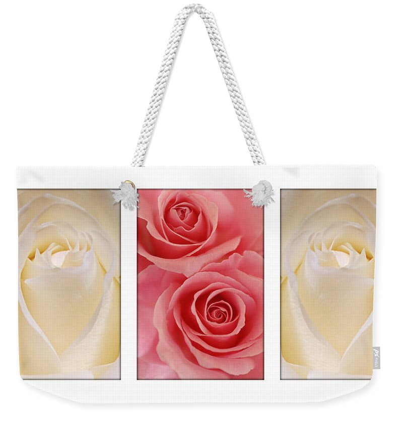 Rose Weekender Tote Bag featuring the photograph Rose Series by Jill Reger