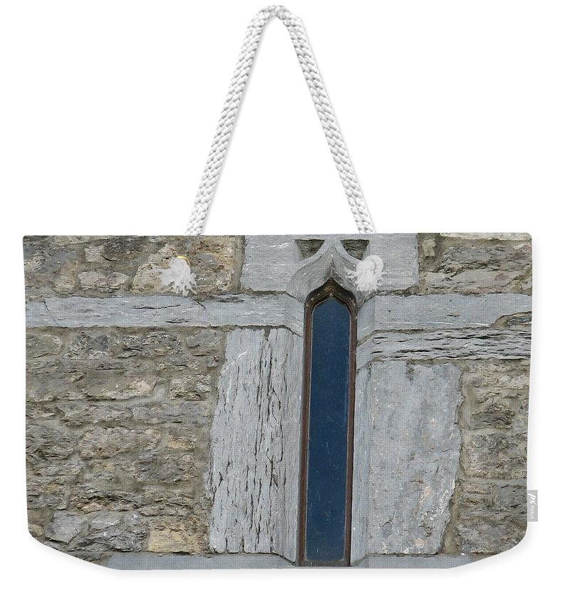 Ross Castle Weekender Tote Bag featuring the photograph Ross Castle by Kelly Mezzapelle