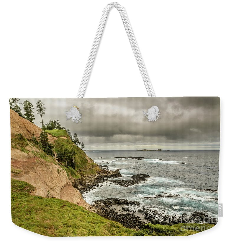 Landscape Weekender Tote Bag featuring the photograph Ross Point 1 by Werner Padarin