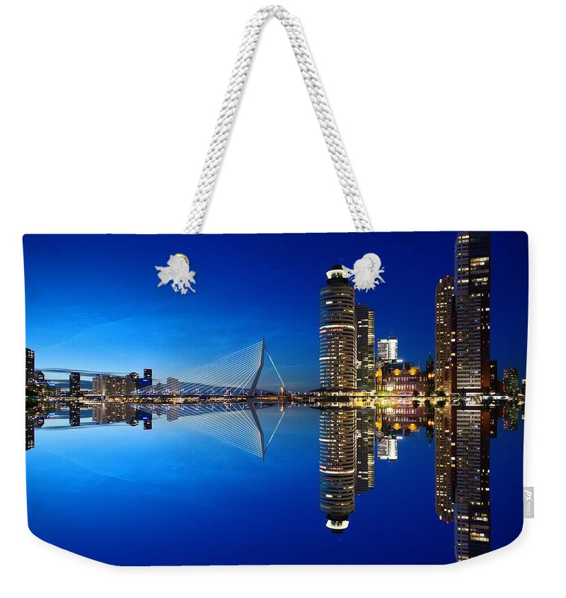 City Weekender Tote Bag featuring the photograph Rotterdam - The Netherlands by Artpics