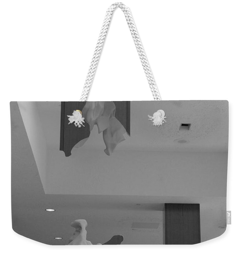 Abstract Weekender Tote Bag featuring the photograph Rotton Stanchon by Rob Hans