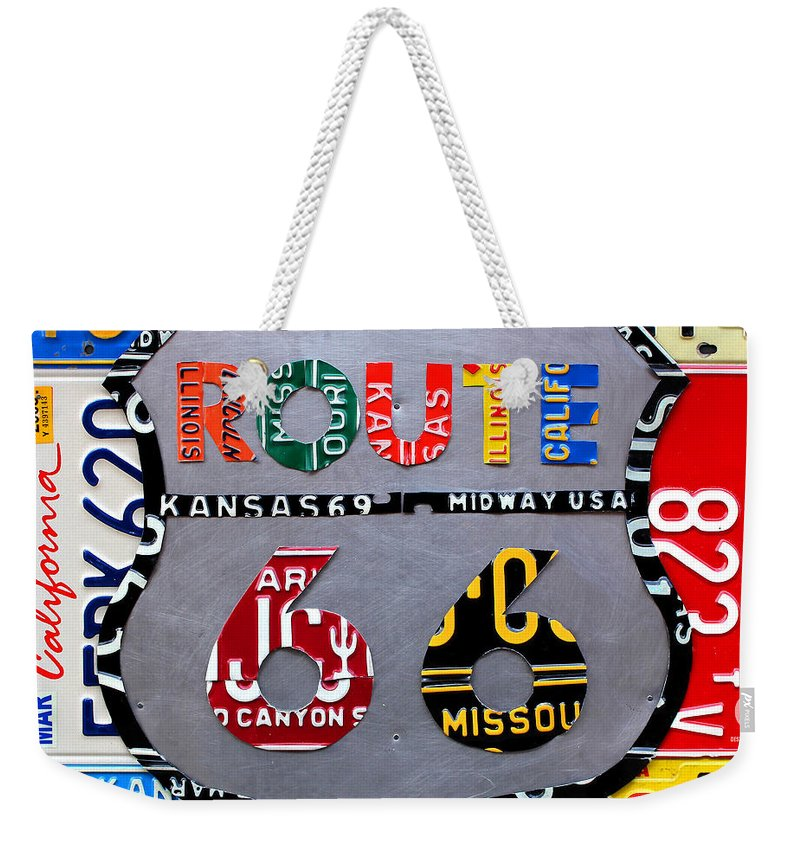 Geography Weekender Tote Bags