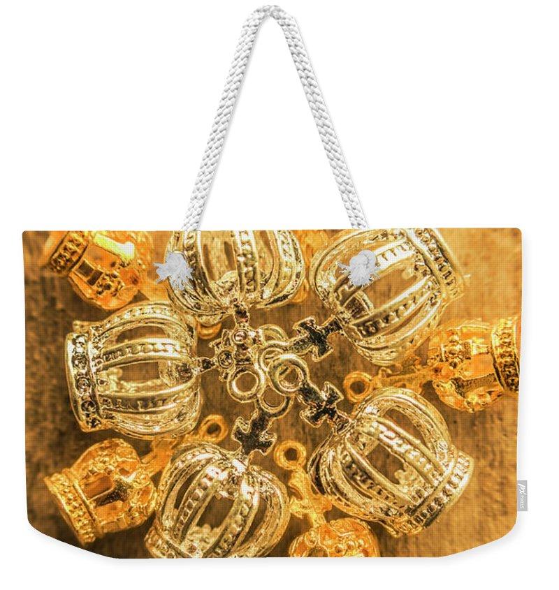 Jewelery Weekender Tote Bags