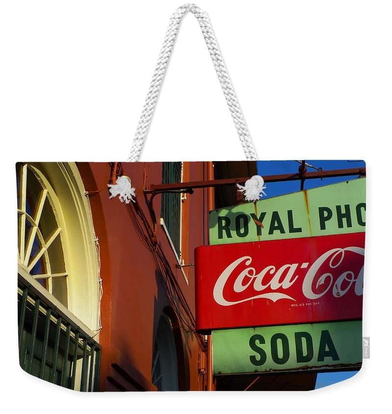 Skip Hunt Weekender Tote Bag featuring the photograph Royal by Skip Hunt
