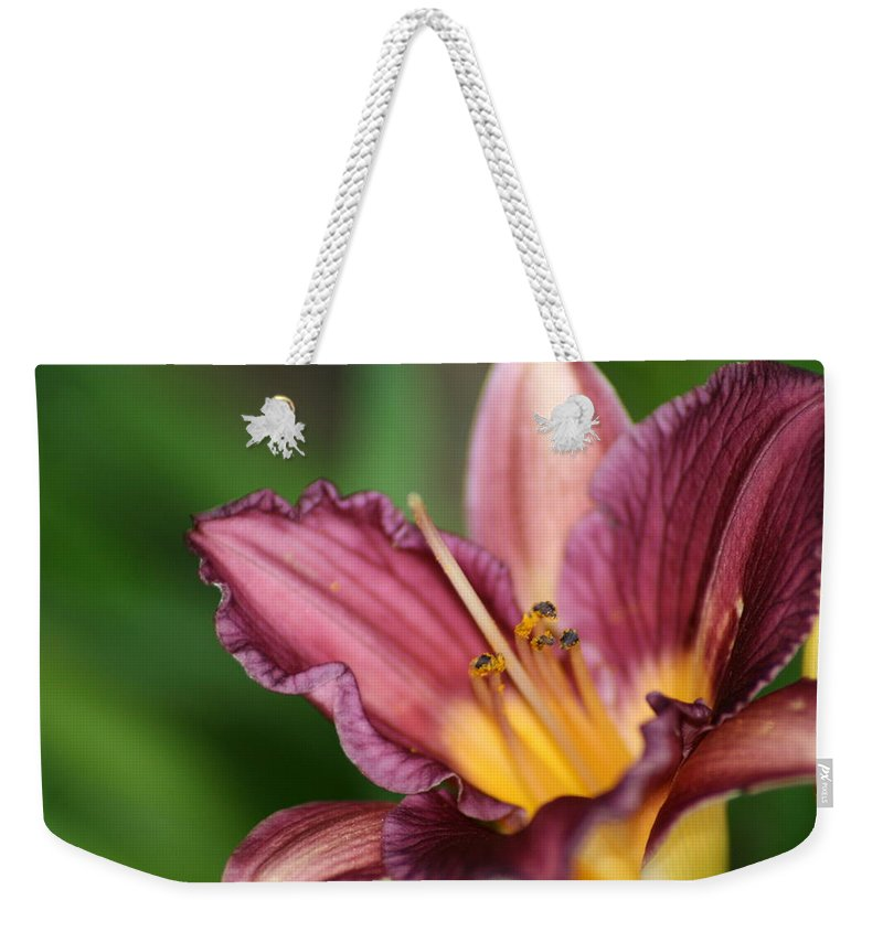 Floral Weekender Tote Bag featuring the photograph Royalty by Marla McFall