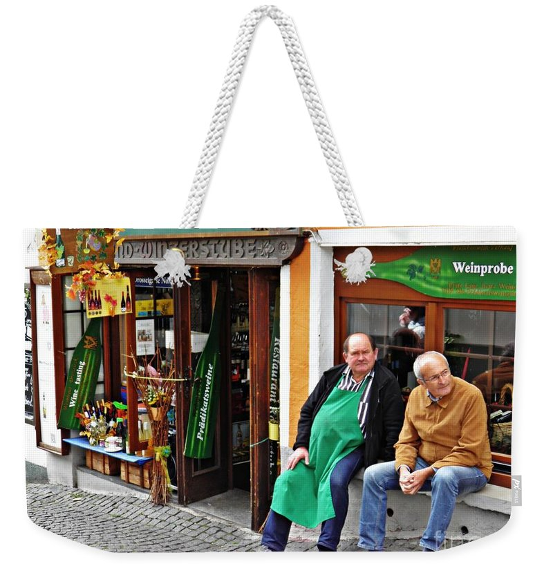 Rudesheim Weekender Tote Bag featuring the photograph Rudesheim 4 by Sarah Loft