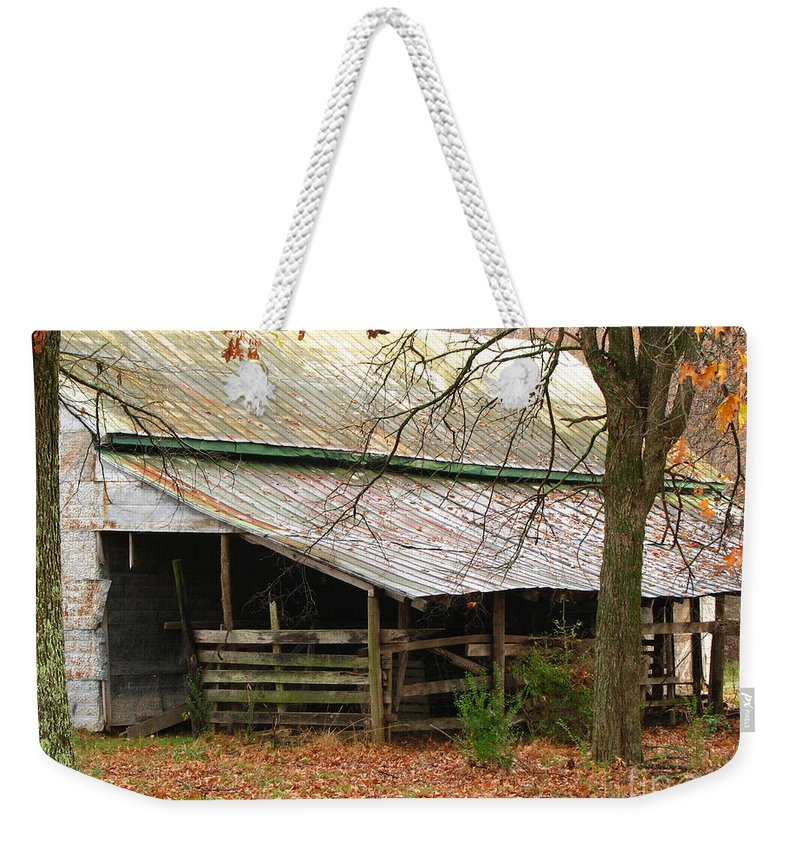 Rural Weekender Tote Bag featuring the photograph Rural by Amanda Barcon