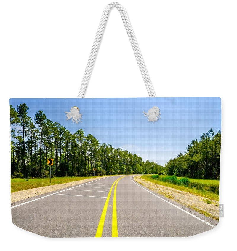 Alabama Weekender Tote Bag featuring the photograph Rural Highway by Raul Rodriguez