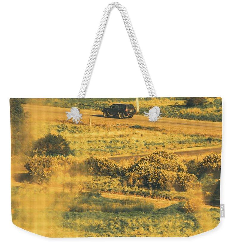 Ranch Weekender Tote Bags