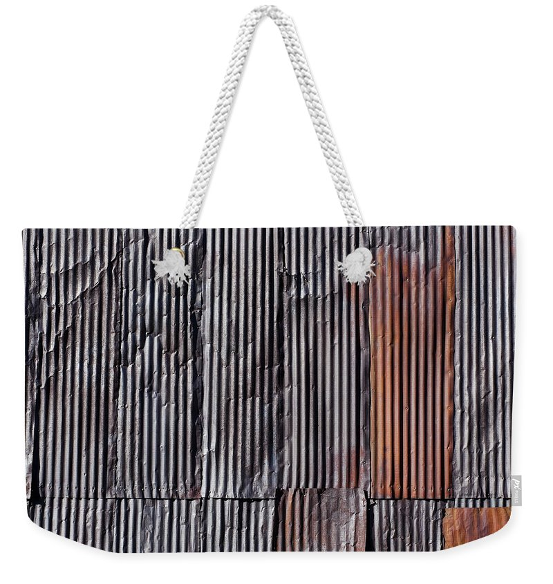 Metal Weekender Tote Bag featuring the photograph Rust by Kelley King
