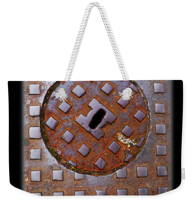 Heavy Metal Weekender Tote Bag featuring the photograph Rust Never Sleeps by Charles Stuart