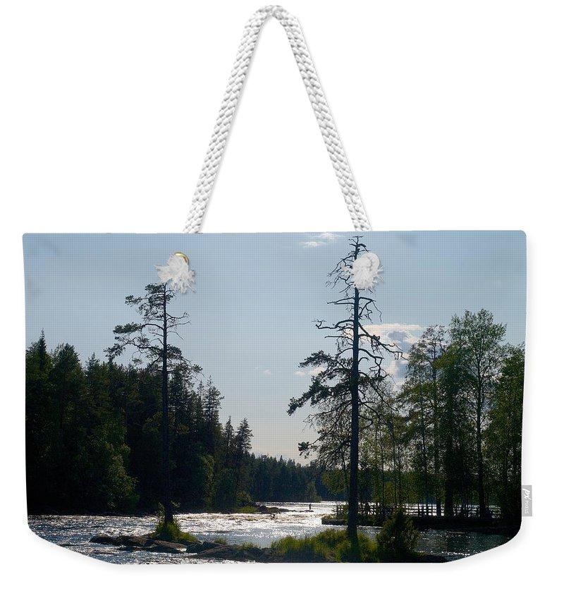 Lehtokukka Weekender Tote Bag featuring the photograph Ruunaankosket by Jouko Lehto