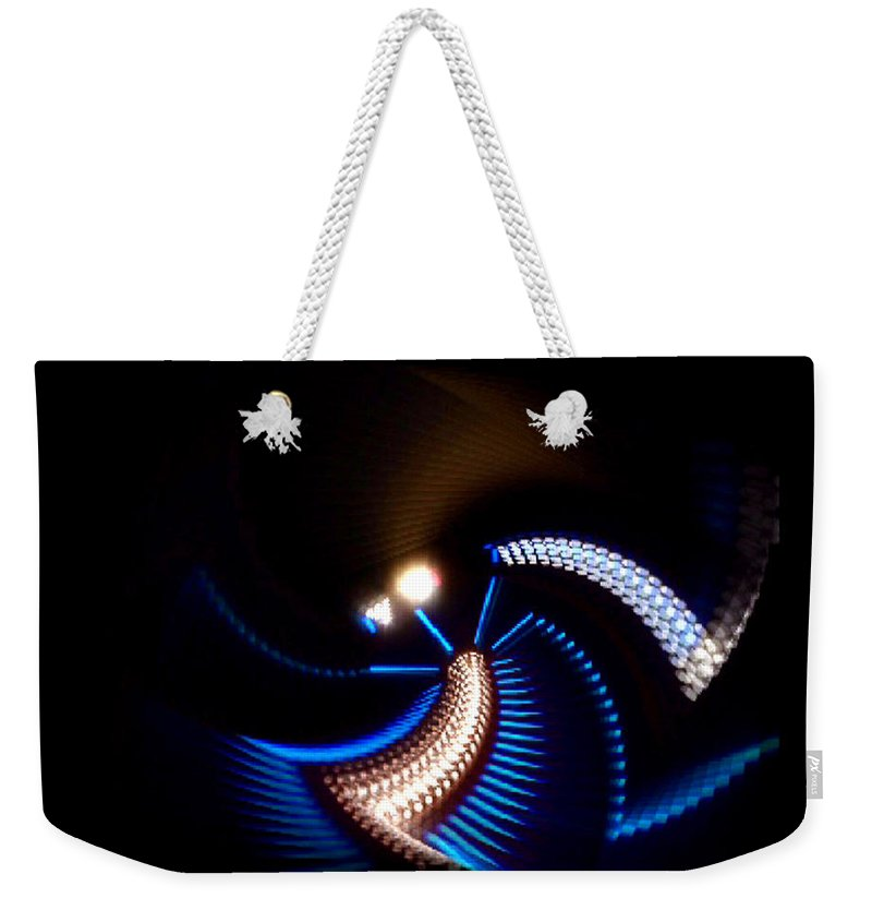 Chaos Weekender Tote Bag featuring the painting Sabre Dance by Charles Stuart