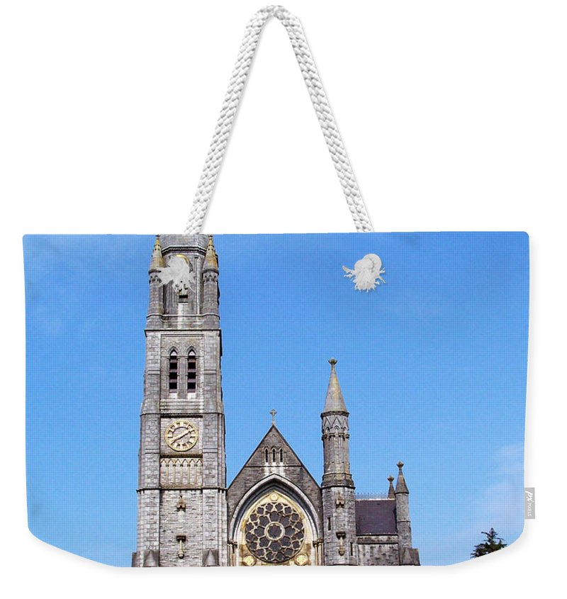 Ireland Weekender Tote Bag featuring the photograph Sacred Heart Church Roscommon Ireland by Teresa Mucha