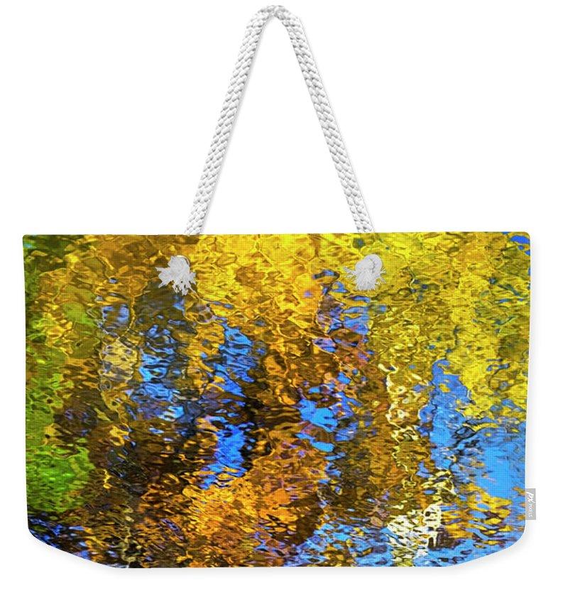 Safari Weekender Tote Bag featuring the photograph Safari Mosaic Abstract Art by Christina Rollo