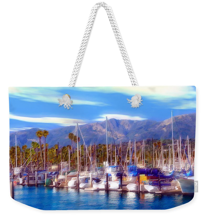 Charbor Weekender Tote Bag featuring the photograph Safe Haven by Kurt Van Wagner