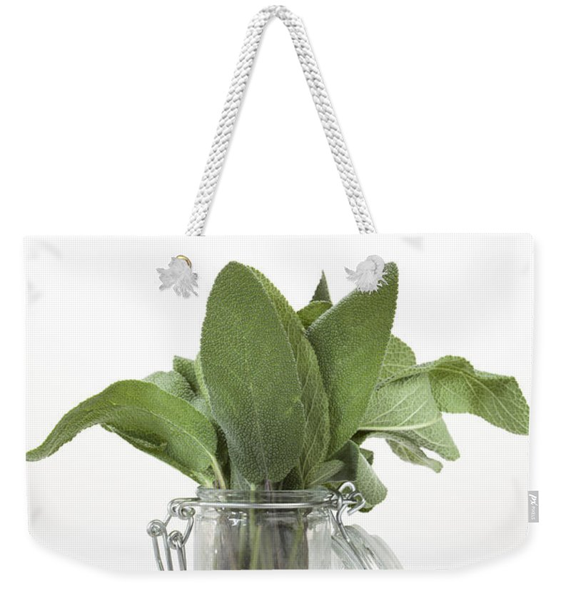 Sage Weekender Tote Bag featuring the photograph Sage by Wolfgang Steiner