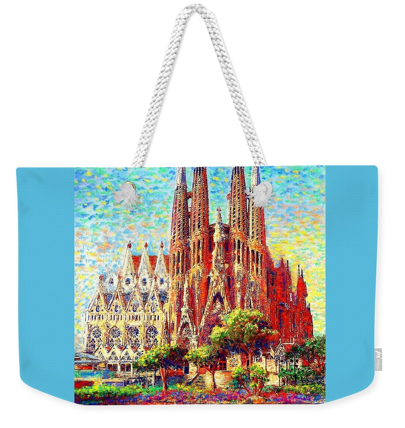 Temple Weekender Tote Bags