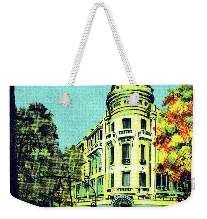 Saigon Weekender Tote Bag featuring the painting Saigon, Ho Chi Mihn City, Vietnam by Long Shot